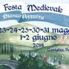 XIII Festa Medievale Biancoazzurra – Le date: 23.24.25-30.31 maggio  e 1.2 giugno 2014.