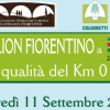 """From Castiglion Fiorentino at Expo 2015: the quality of Km 0″. Thursday, September 11 from 10 am."