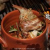"RABBIT IN PAN WITH HERBS MEDITERRANEAN Azienda ""Casali in Val di Chio"""
