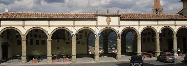 Le logge Vasariane